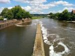 hameln downstream road bridge left bank