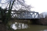 railway bridge below sluice l
