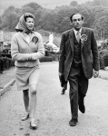 Jeremy Thorpe And Wife Campaigning