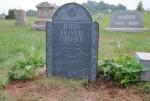 updike gravestone front
